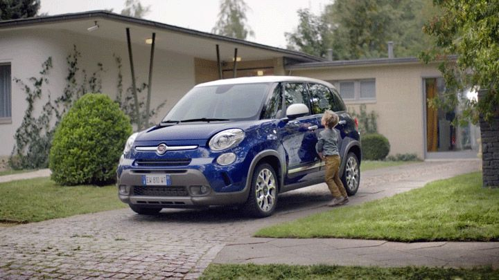 Car commercial Round Dance for the Fiat 500L series directed by Bruce St. Clair with Italian agency Leo Burnett.